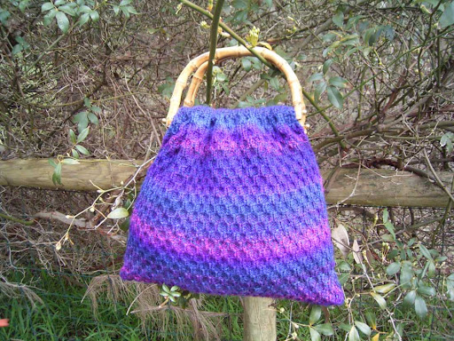Edendale Bag (previously known as Trellis Bag) pattern now available