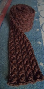 Kinematics Scarf free knitting pattern