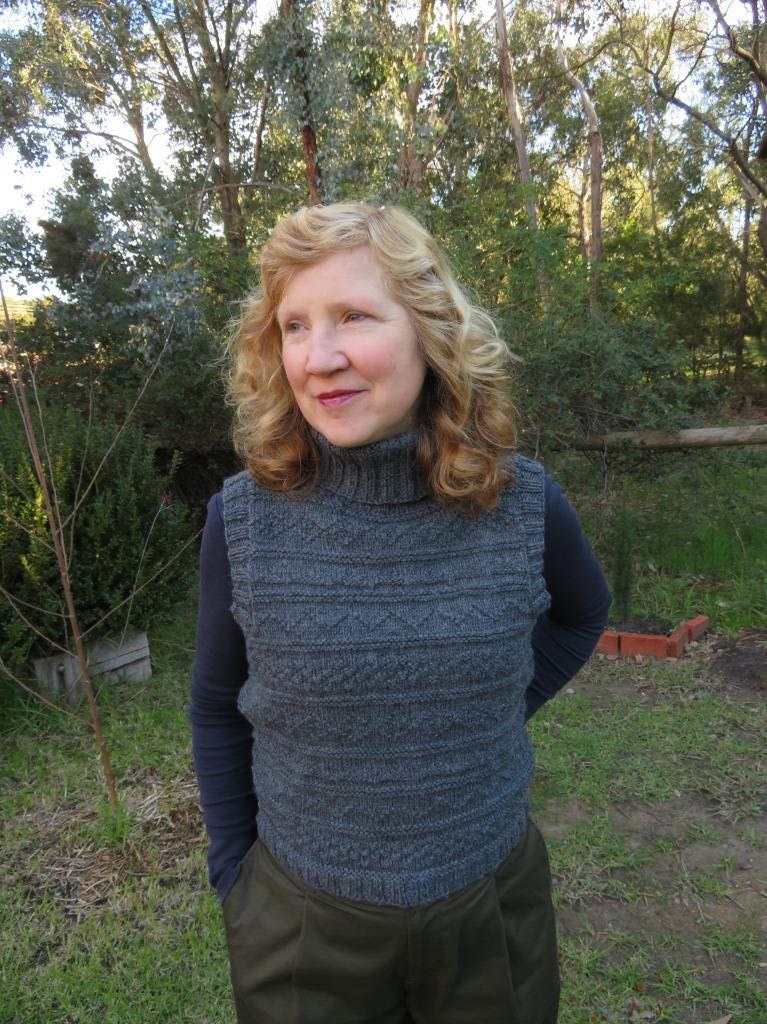 Lovely Timeless Vest Knitting Pattern - Bona Fide